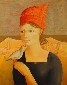 Lilita Postaža, Latvian artist, b. Riga 1941.