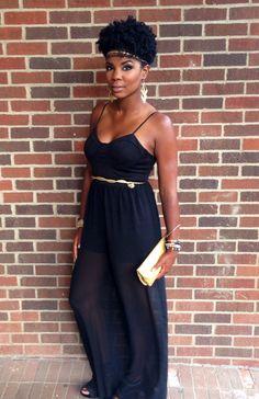 ofcourseblackisbeautiful:  djuantrent:  black and gold. unfiltered.  -  BGKI - the #1 website to view fashionable & stylish black girlsshopBGKI today