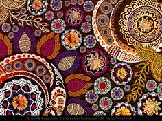 Image result for Paisley Flowers