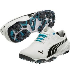 hot sale online 47637 92691 PUMA Mens BioFUSION Golf Shoe - WhiteBlack... golf shoes
