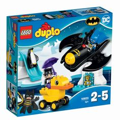 LEGO DUPLO DC Comics Super Heroes Batman Batwing Adventure Preschool, Pre-Kindergarten, Large Building Block Toys for Toddlers in Building Sets. Lego Duplo Sets, Legos, Toddler Toys, Kids Toys, Large Building Blocks, Batman Batarang, Avengers, Buy Toys, Buy Lego