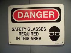 I suggested party guests come with Protective Eyegear for a reason, eh?