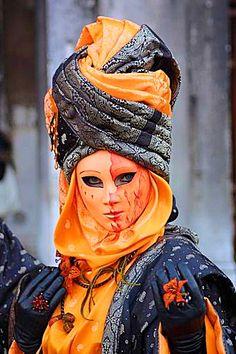 Venetian Mask #OrangeWednesday