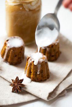 #Cakes moelleux au #potimarron