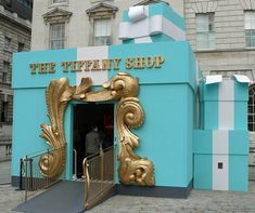 Tiffany pop up shop - London Quite an entrance-PopUp Republic