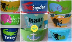 Personalized Baby BOY GIRL Shower Gift Basket by TheLemonadeGirl, $45.00