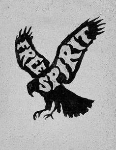 Be just that // Free Spirit // Little Mountain Print Shoppe. Bird instead of spirit Free Spirit Tattoo, Free Spirit Quotes, Inspirational Quotes Pictures, Art Quotes, Simple Illustration, Hippie Art, Hippie Style, Picture Quotes, Shirt Designs