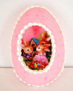 Tutorial - How to make a Panoramic Sugar Egg for Easter. These are absolutely ADORABLE! The tutorial makes it look pretty easy to do. Perfect for your Easter decorations, or as a special surprise to tuck in your Easter baskets!