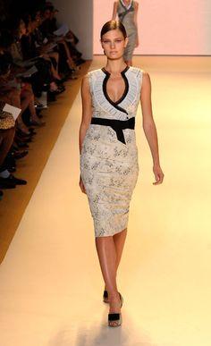 Carolina Herrera. I would totally wear this if I had somewhere to wear it.