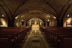 Crypt Church, National Shrine of the Immaculate Conception. So beautiful!