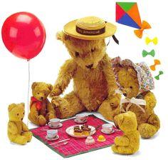 Teddy Bear Picnic ~ Saturday, April 26th @ 10:30 | Pierson Library