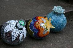 bowling ball mosaic - by Ta-Dah, via Flickr