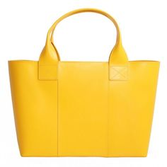 Shopping Bag Yellow Gold