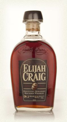 One of my favorites for sipping, had it in my bar. 134.8 proof  Elijah Craig 12 Year Old Barrel 134.8 Proof!!