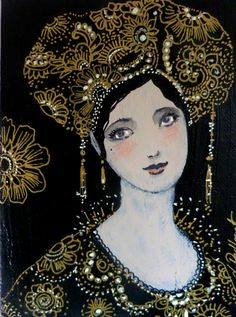 Statues, Baroque, L'art Du Portrait, Art Visage, Art Et Illustration, Art Illustrations, Gold Line, French Artists, Face Art