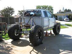 Dodge Ram Buggy. I love this whole thing...the tires, the windows,the bed, its all great.