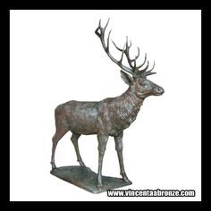 Life Size Deer Sculpture For more high quality bronze sculpture / Bronze Deer Statue / Deer Sculpture