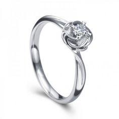 unique-flower-design-round-brilliant-solitaire-engagement-ring-best-custom-engagement-ring-ideas