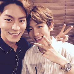 "Baekhyun - 160818 Actor Hong Jonghyun's Instagram update: ""현아 첫방잘해…"