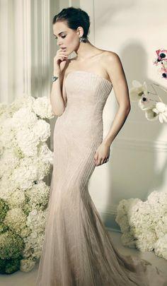 Truly Zac Posen 2014 Wedding Dresses at David's Bridal | bellethemagazine.com