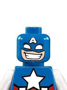 Capitán América - Personajes - LEGO.com