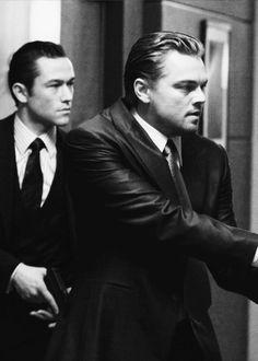 Leonardo DiCaprio and Joseph Gordon Levitt in Inception