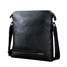 JD-Jetrs 2015 Hot Selling High Quality genuine leather messenger bag fashion men's shoulder casual briefcase