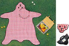 picknickkleed 'berenvel'