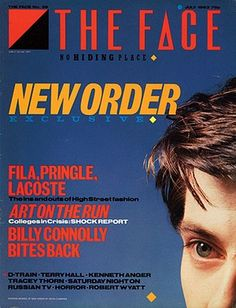 "- The Face Magazine ""New Order"" cover by Neville Brody / July 1983 Kenneth Anger, The Face Magazine, Neville Brody, Graphisches Design, Design Squad, Book Design, Magazine Cover Design, Magazine Covers, Magazine Images"