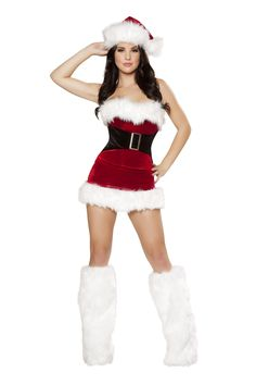 a136445b65d48 Mistletoe Cutie. Womens Santa CostumeCostumes For WomenMrs Clause CostumeChristmas  CostumesSexy ...