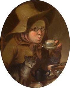 Teatotalism by Edward Bird, England, 1795