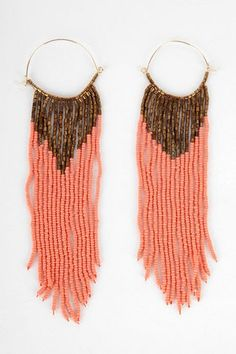 Joia Brazil Beaded Earrings. These are truly a steal!