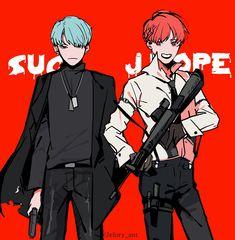 Suga & Jhope Fanart | ♡