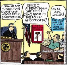 Jury Duty cartoons, Jury Duty cartoon, funny, Jury Duty picture, Jury Duty…