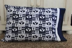 "BYU Print Pillowcase  - MormonFavorites.com  ""I cannot believe how many LDS resources I found... It's about time someone thought of this!""   - MormonFavorites.com"
