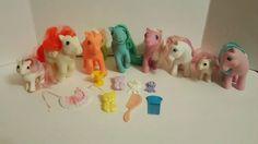Vintage Hasbro My Little Pony MLP Lot  8 Sundance Party Time Paradise Extras #Hasbro