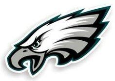 """Philadelphia Eagles 12"""""""" Logo Car Magnet"""