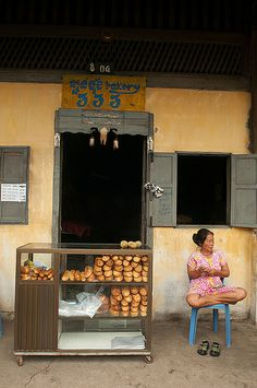 French baguette, Kampot, Cambodia They eat more white bread here than any other SE Asian nation