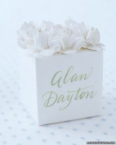 """See the """"Flower Top"""" in our Boxed Wedding Favors gallery"""