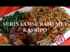 Warme Surinaamse nasi met vers geroosterde kip uit de oven - YouTube
