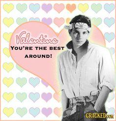 William Zabka Karate Kid Valentine