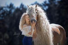 "Haflinger Horse With Rapunzel-Like Mane Takes Internet By ""Storm"" Horse Girl Photography, Equine Photography, Photography Women, Cheval Haflinger, Haflinger Horse, Most Beautiful Horses, Animals Beautiful, Palomino, Floaty Summer Dresses"