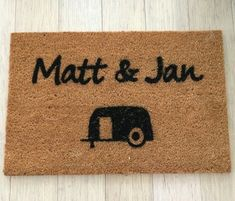 Looking for a perfect gift for couples? Try this personalised doormat. It's a memorable keepsake.  #afterpayobsession #uniquegifts #australiawide #supportsmallbusiness #lmbdw #mumswhoshop #brisbanemums #personalisedoormats #familyname #personalisedgifts #frontdoordecor #homemade #homeinspo #homeinspiration Personalized Door Mats, Personalized Gifts, Retirement Presents, Best Shakes, Coir, Welcome Mats, Front Door Decor, Doormat, Just Giving