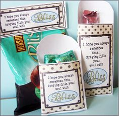 """Missionary Candy Sayings """"Bliss"""""""