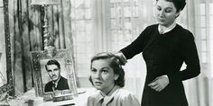 Laurence Olivier  Joan Fontaine  Judith Anderson  Rebecca  Alfred Hitchcock  1940