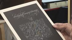How To Write Copperplate Calligraphy The website has a fascinating series of tutorials.