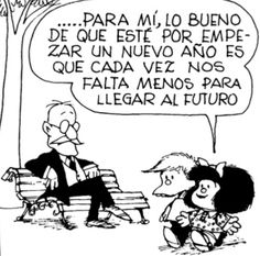 Mafalda y el futuro