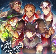 VLD - Happy Halloween :D by Evil-usagi on DeviantArt