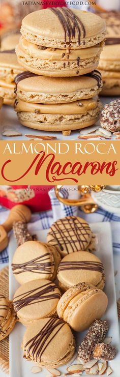 My newest obsession and new favorite macarons – these almond roca macarons are simply divine! There's something so delicious about the combination of crushed toffee candy with chocolate, chocolate ganache, salted caramel frosting and light almond wafers. If you love Almond Roca candy, you're going to flip for these macarons! I got the idea to […]