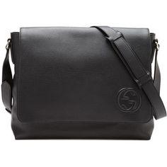 78f92a7918b6ac Gucci Soho Men's Leather Messenger Bag Designer Messenger Bags, Messenger  Bag Men, Baggage Claim